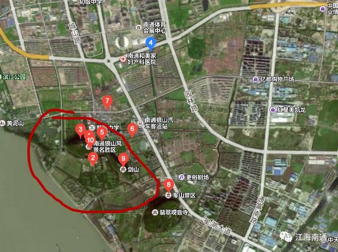 南通这些地方将建森林公园,湿地公园.